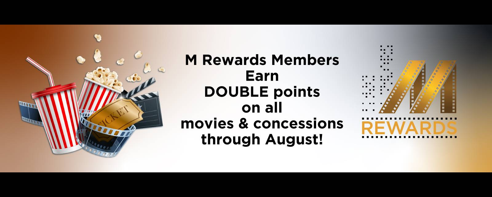 M Rewards Double Points