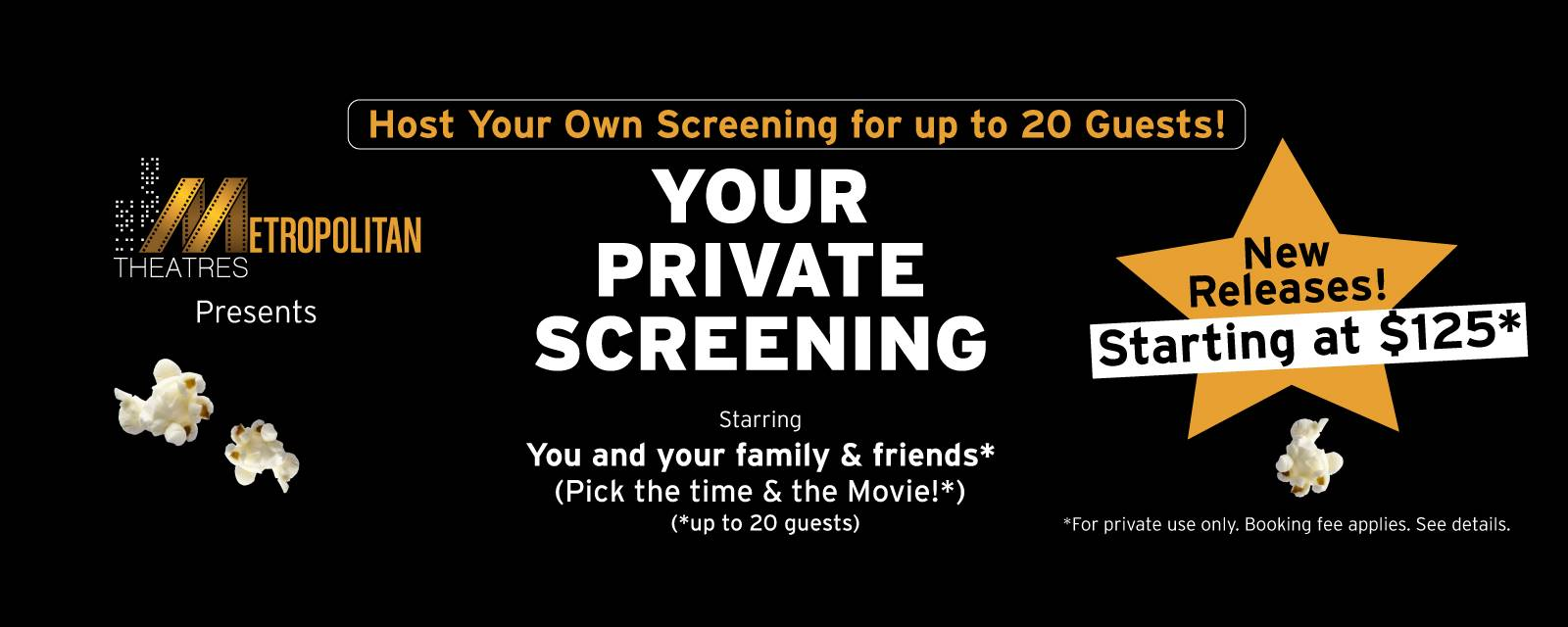 Your Private Screening