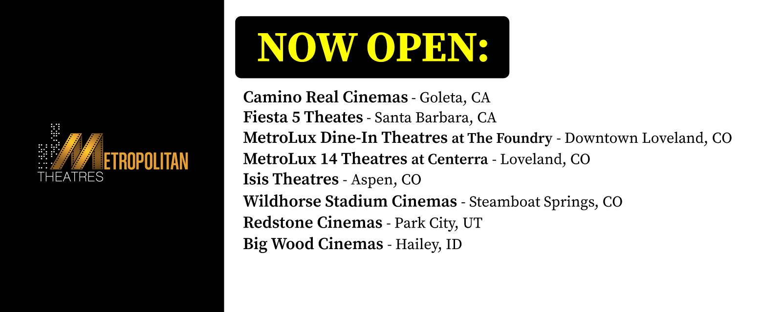 Select Theatres Open image