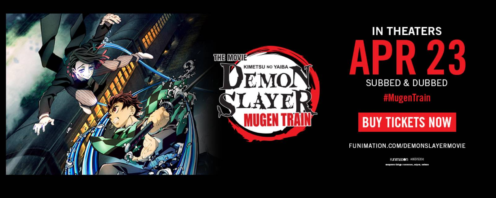 Demon Slayer The Movie: Mugen Train - Subbed